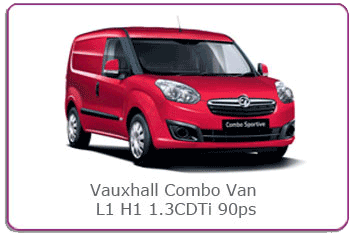 Buy our most popular selling Vauxhall combo at www.thinkvans.com